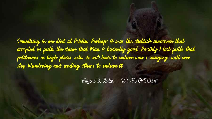 Quotes About Endure #29128