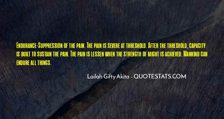 Quotes About Endure #37110