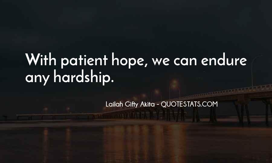 Quotes About Endure #52837