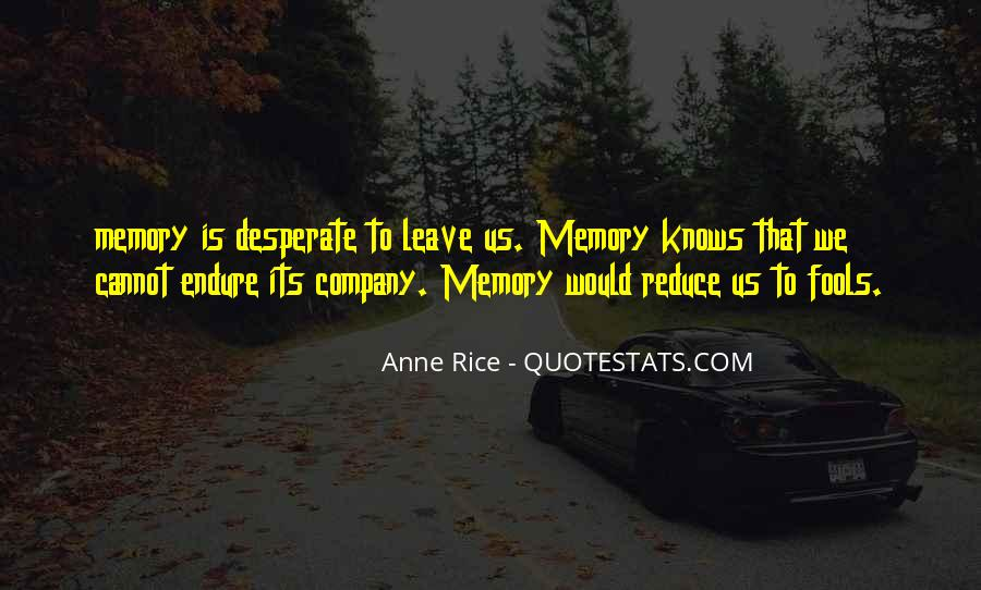 Quotes About Endure #68734