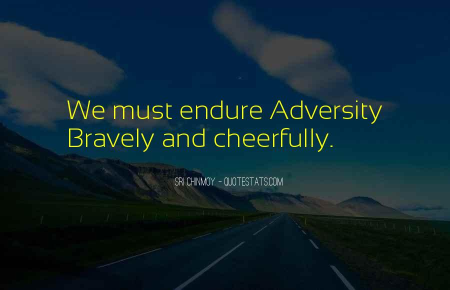 Quotes About Endure #69116