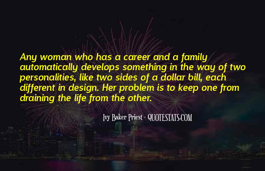Quotes About Career And Family #1025738
