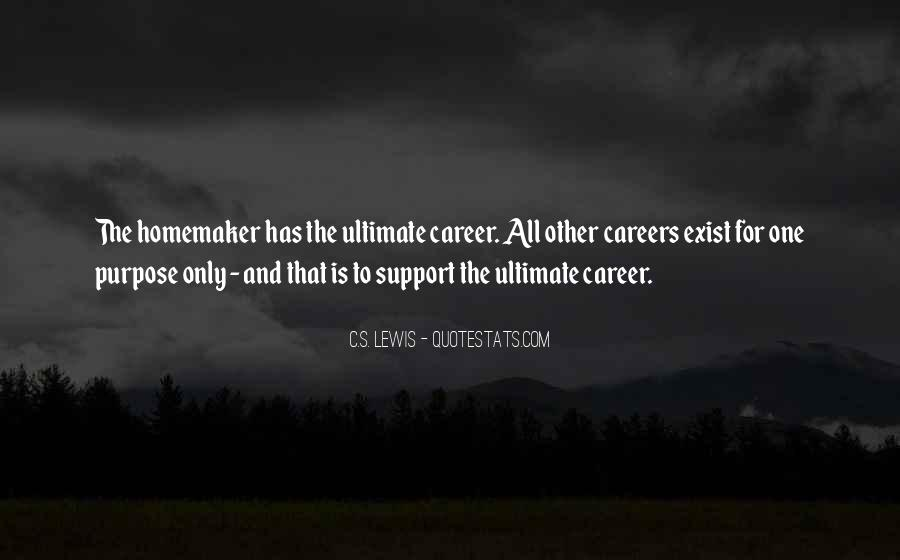 Quotes About Career And Family #1039267