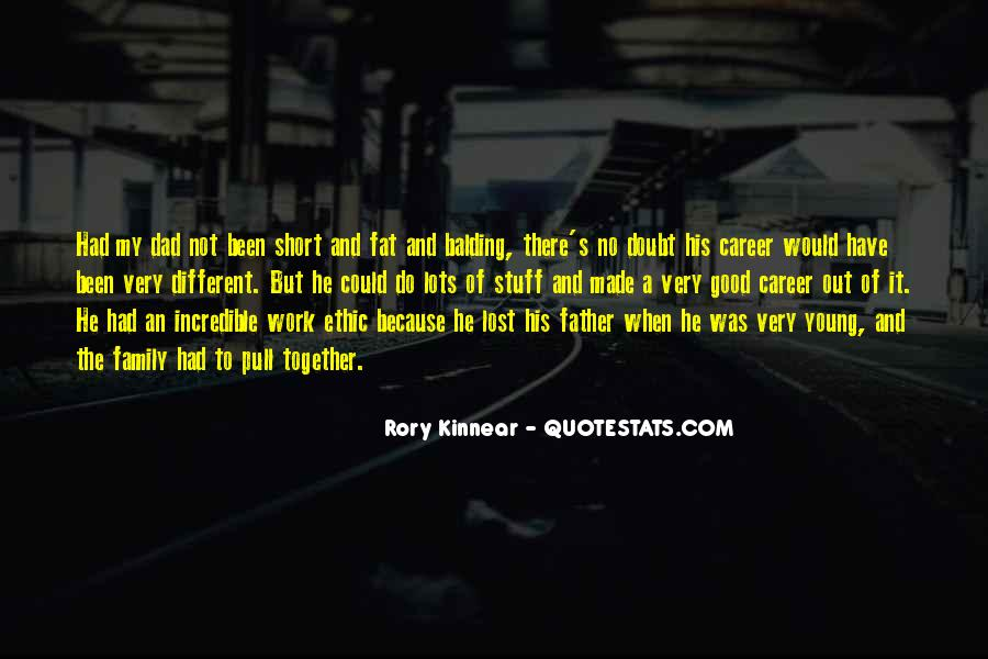 Quotes About Career And Family #1043646