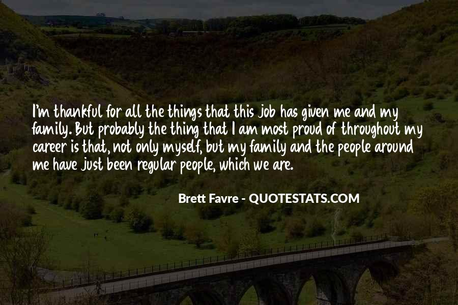 Quotes About Career And Family #1054877