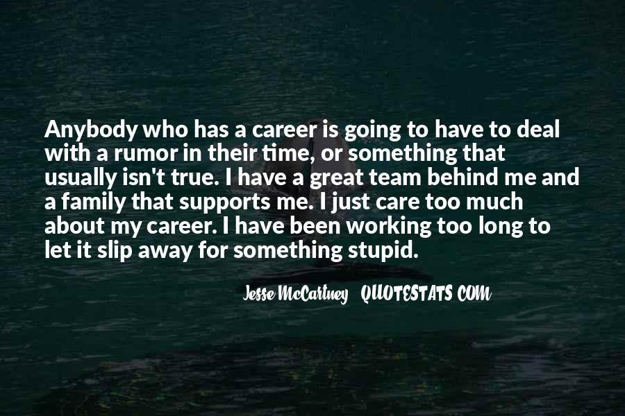 Quotes About Career And Family #1112063