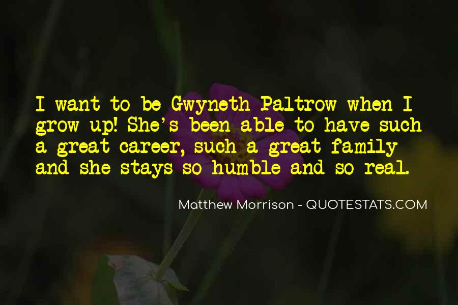 Quotes About Career And Family #226556