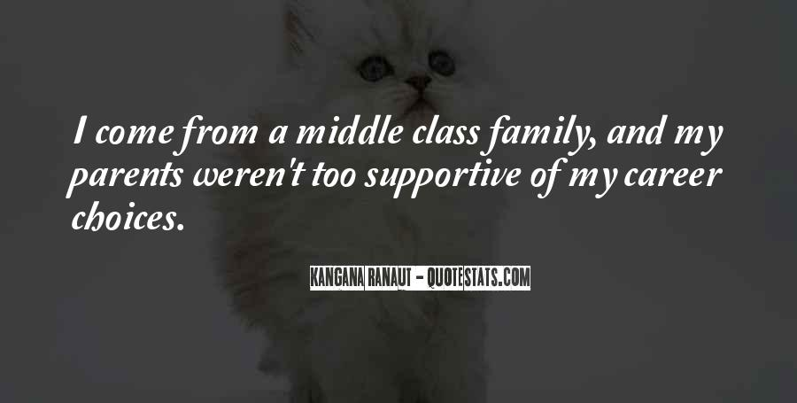 Quotes About Career And Family #237499