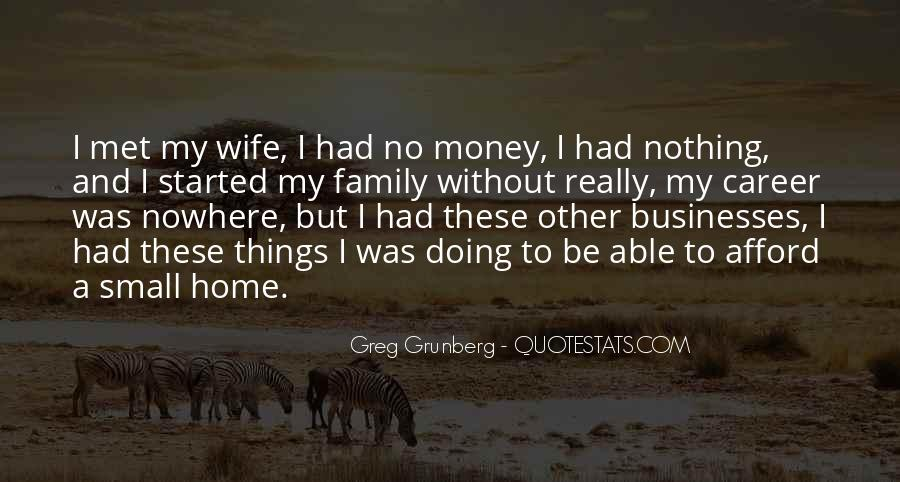 Quotes About Career And Family #253313