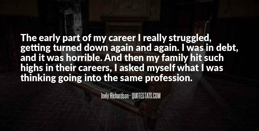Quotes About Career And Family #570243