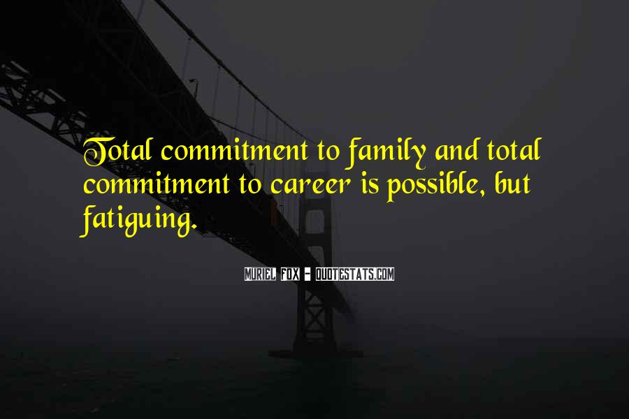Quotes About Career And Family #807012