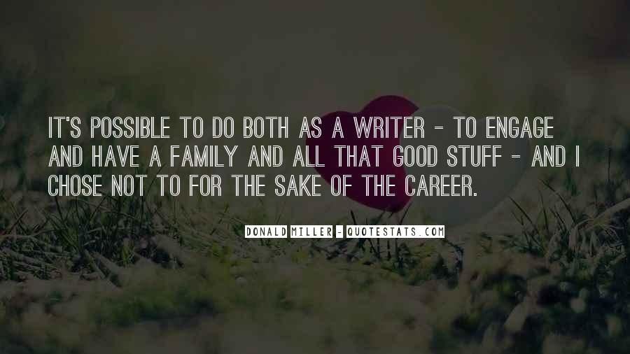 Quotes About Career And Family #868765