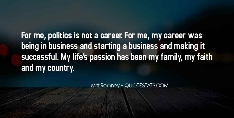 Quotes About Career And Family #87413