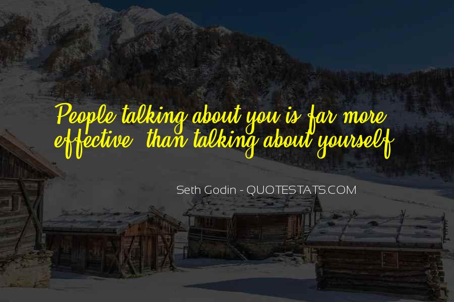 Quotes About Talking About Yourself #1137556