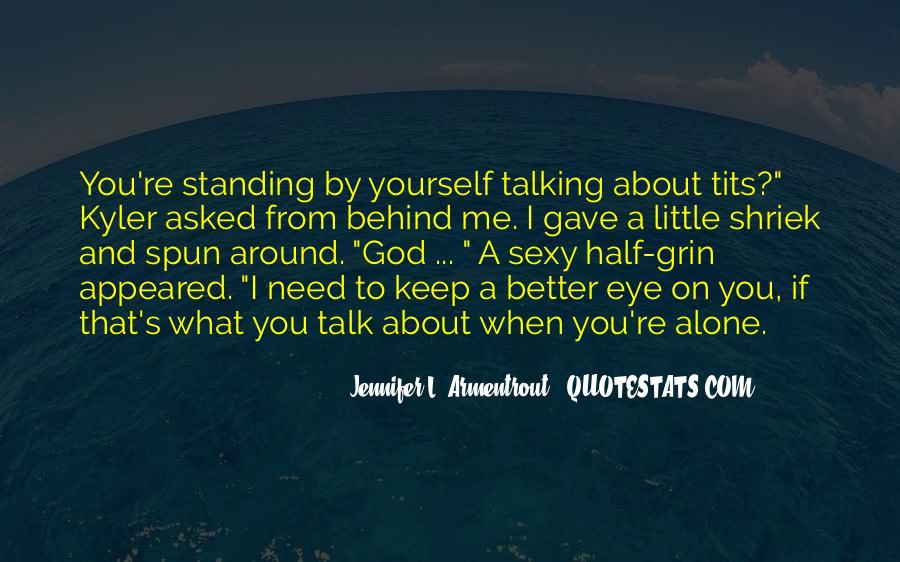 Quotes About Talking About Yourself #1637848