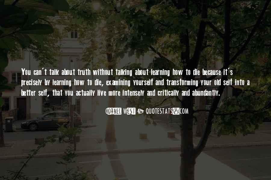 Quotes About Talking About Yourself #1641433