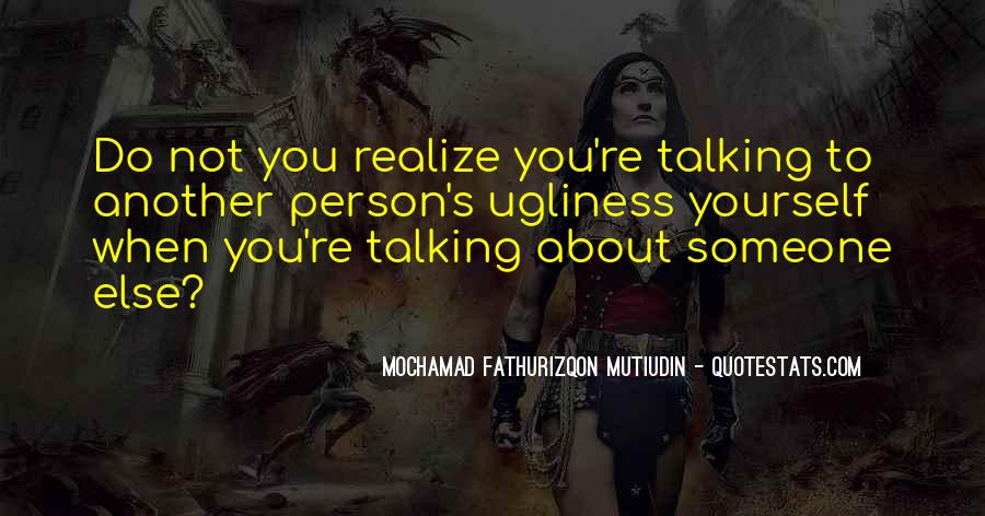 Quotes About Talking About Yourself #1680900