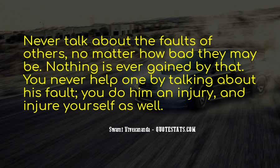 Quotes About Talking About Yourself #736216