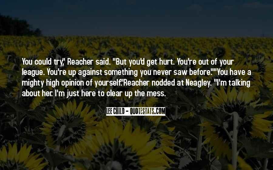 Quotes About Talking About Yourself #74579