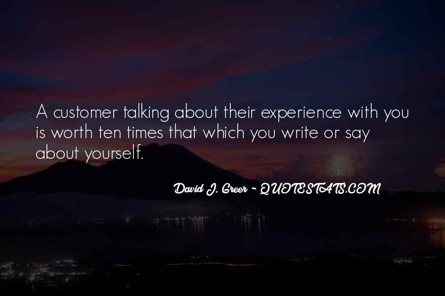Quotes About Talking About Yourself #801319