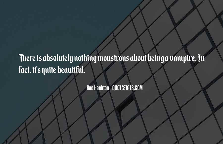 Quotes About Being A Vampire #1084647