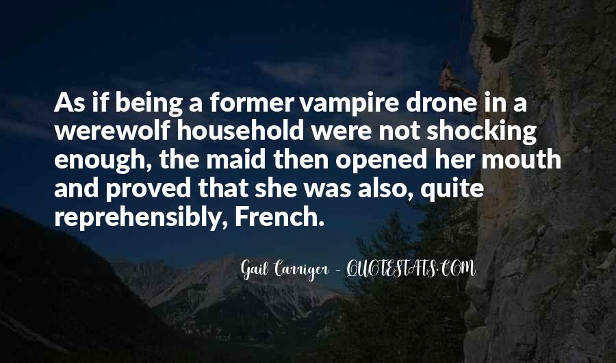 Quotes About Being A Vampire #1275995