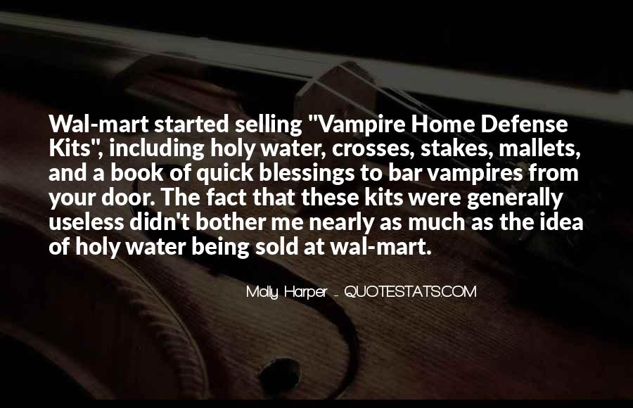Quotes About Being A Vampire #1318603