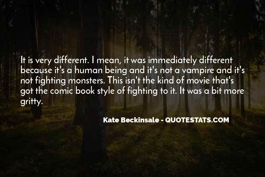 Quotes About Being A Vampire #1472555