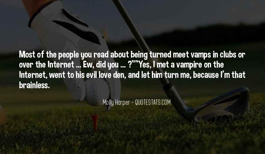 Quotes About Being A Vampire #1658569