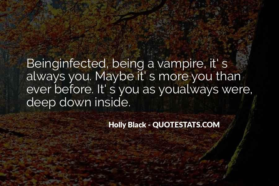 Quotes About Being A Vampire #1879001