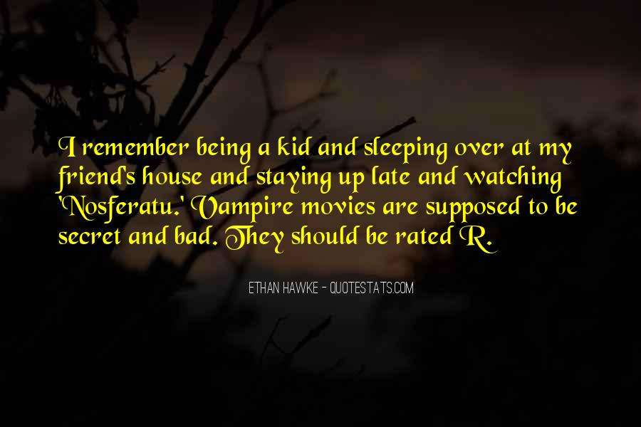 Quotes About Being A Vampire #495358