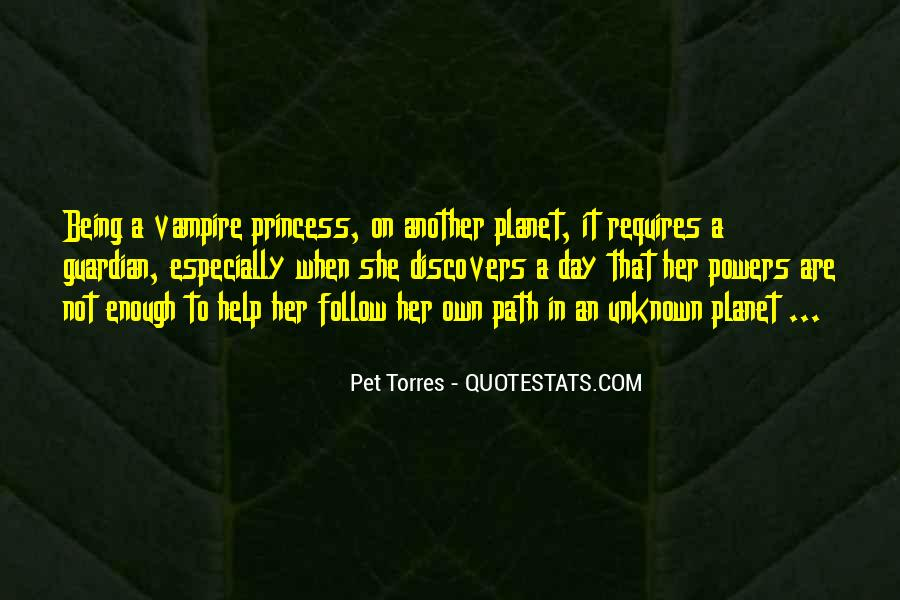 Quotes About Being A Vampire #679404
