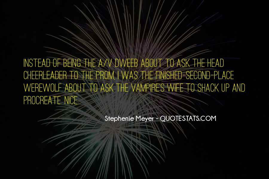 Quotes About Being A Vampire #696414