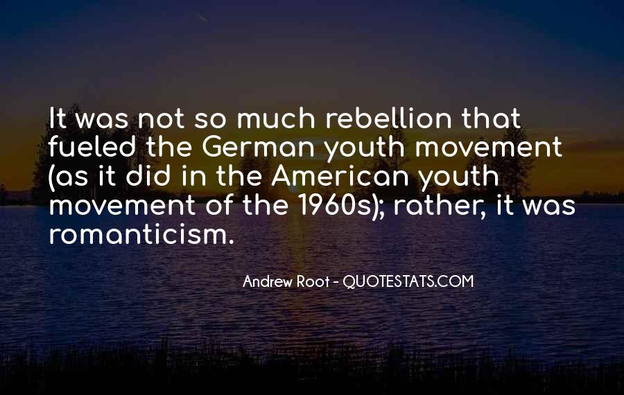Quotes About Romanticism Movement #1152805