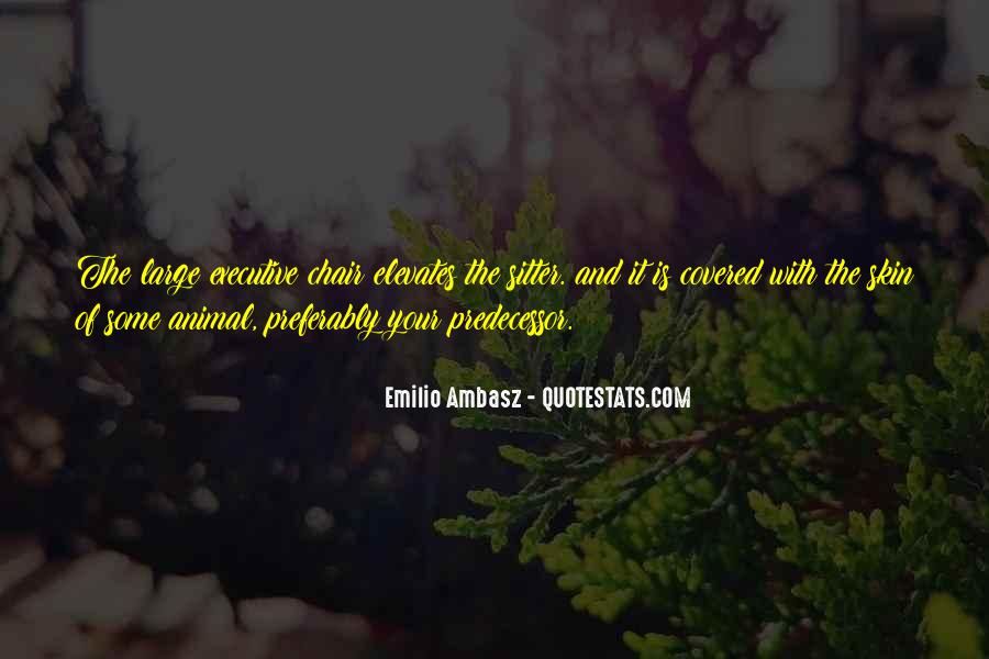 Quotes About Predecessor #1112434