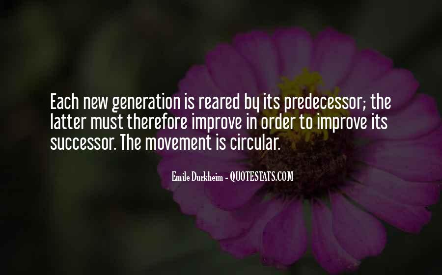 Quotes About Predecessor #1323371