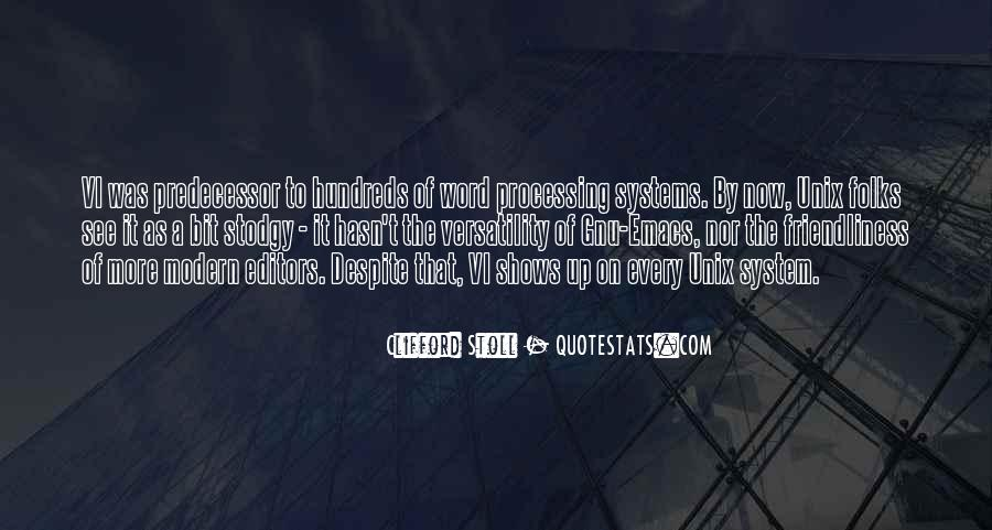 Quotes About Predecessor #1686705