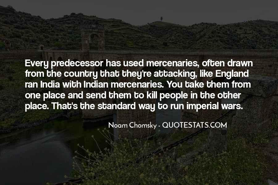 Quotes About Predecessor #481799
