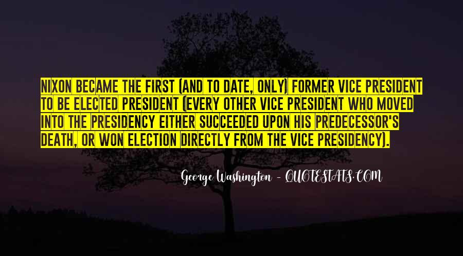 Quotes About Predecessor #751962