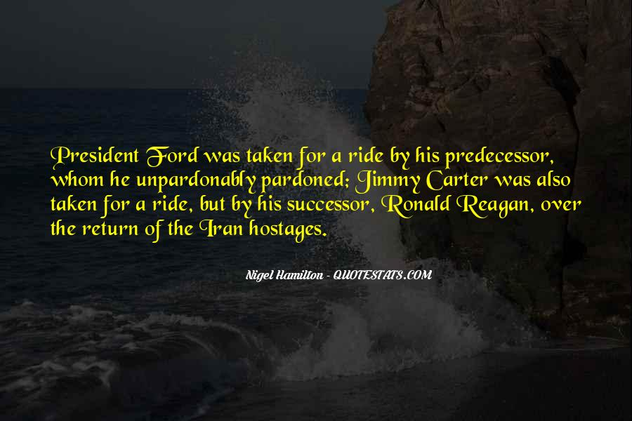 Quotes About Predecessor #801468