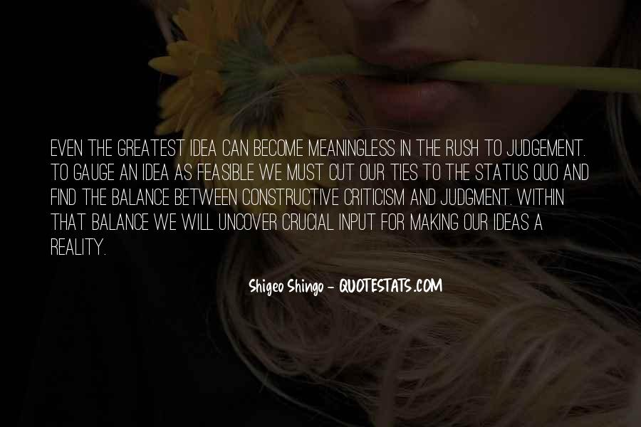 Quotes About Status Quo #102745