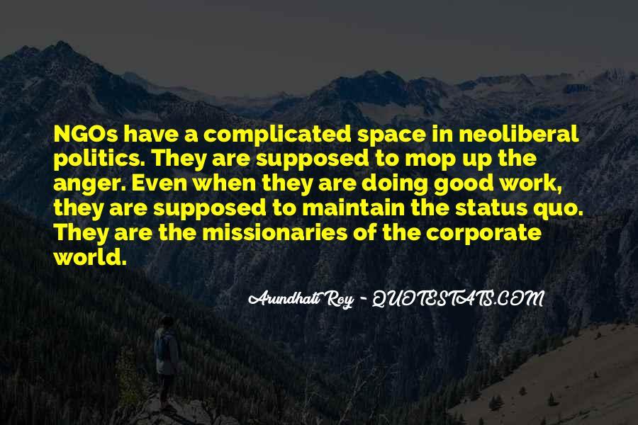 Quotes About Status Quo #118058