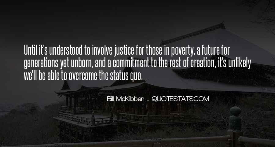 Quotes About Status Quo #133161