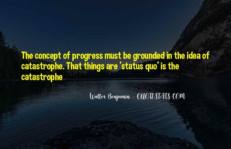 Quotes About Status Quo #142748