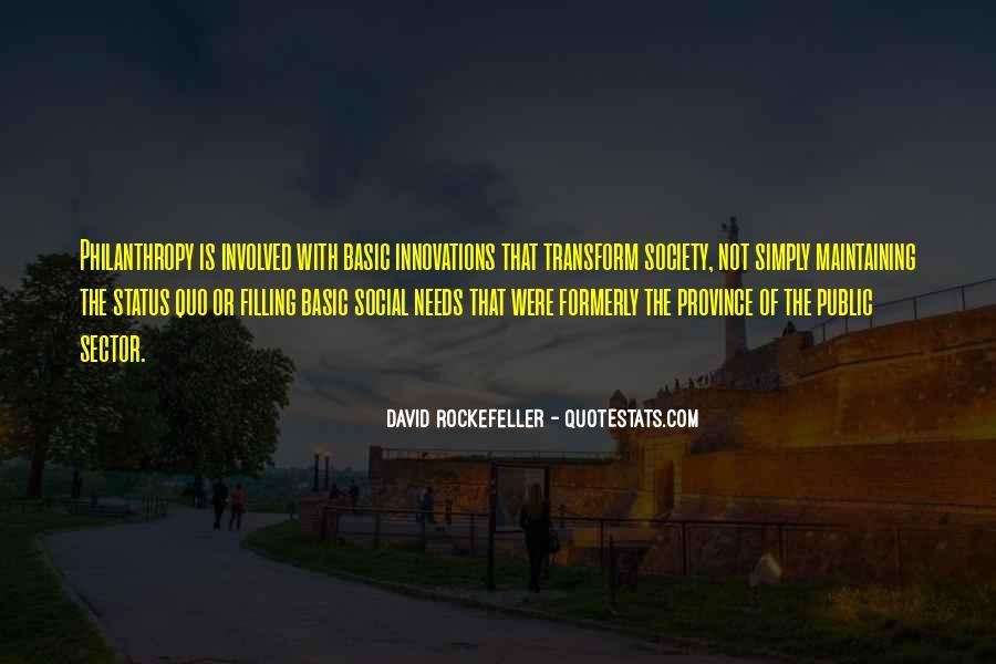 Quotes About Status Quo #143820
