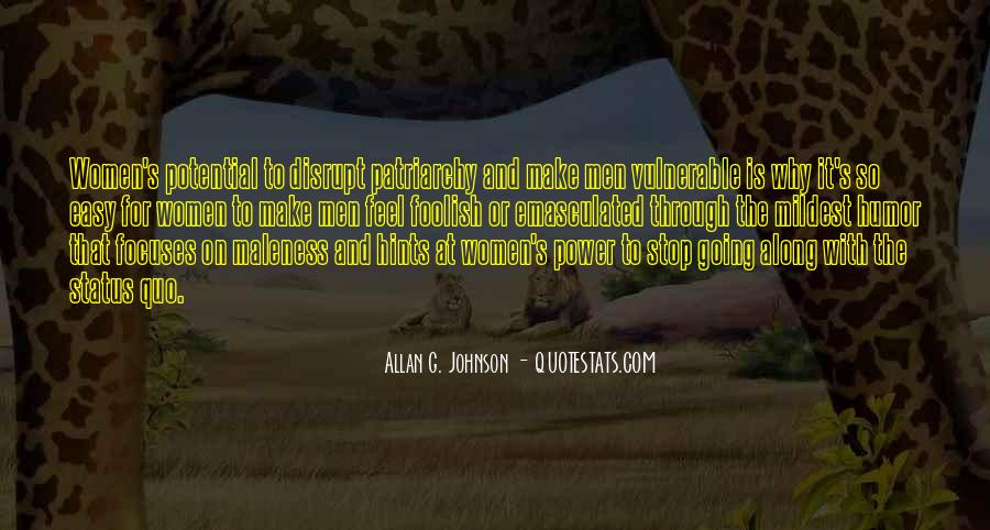 Quotes About Status Quo #203170