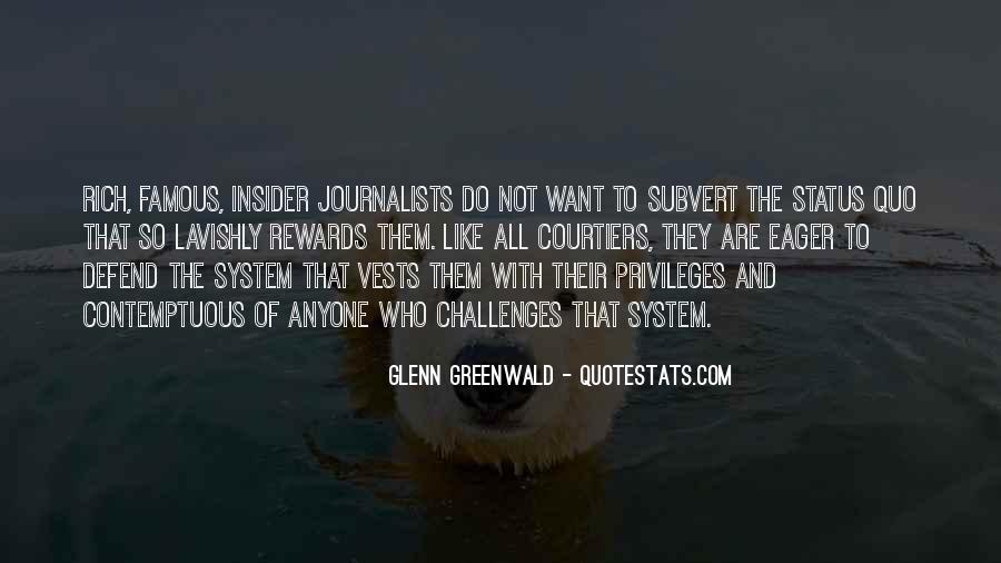 Quotes About Status Quo #238875