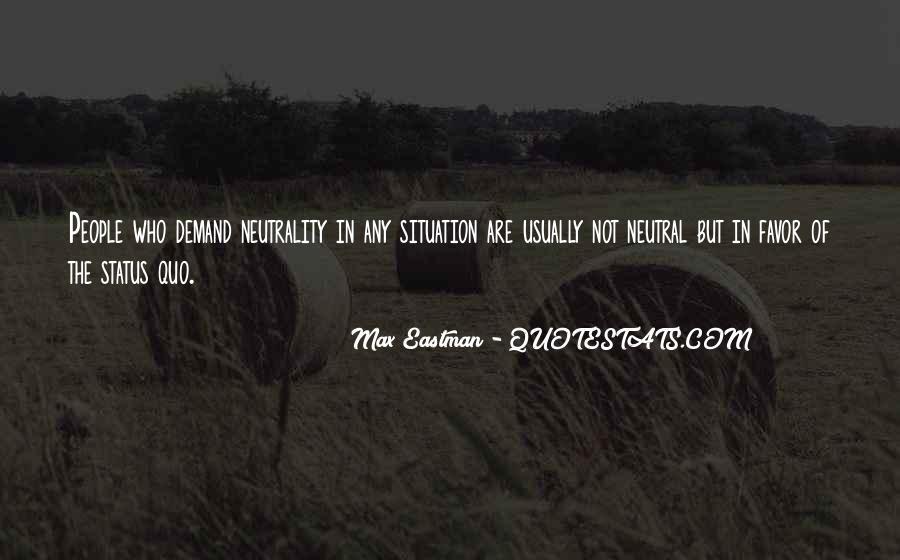 Quotes About Status Quo #258889