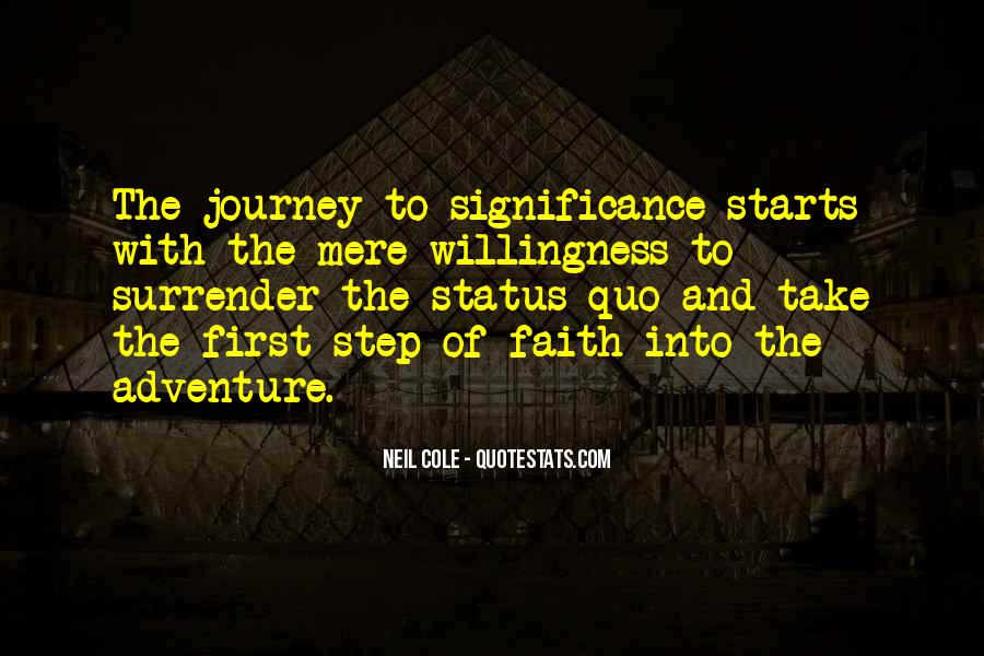 Quotes About Status Quo #284302