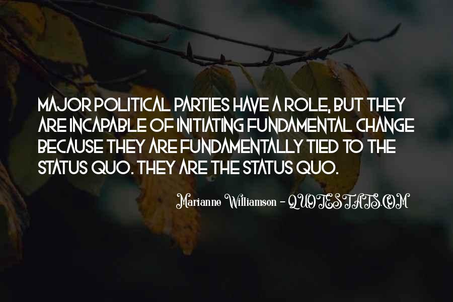 Quotes About Status Quo #293447
